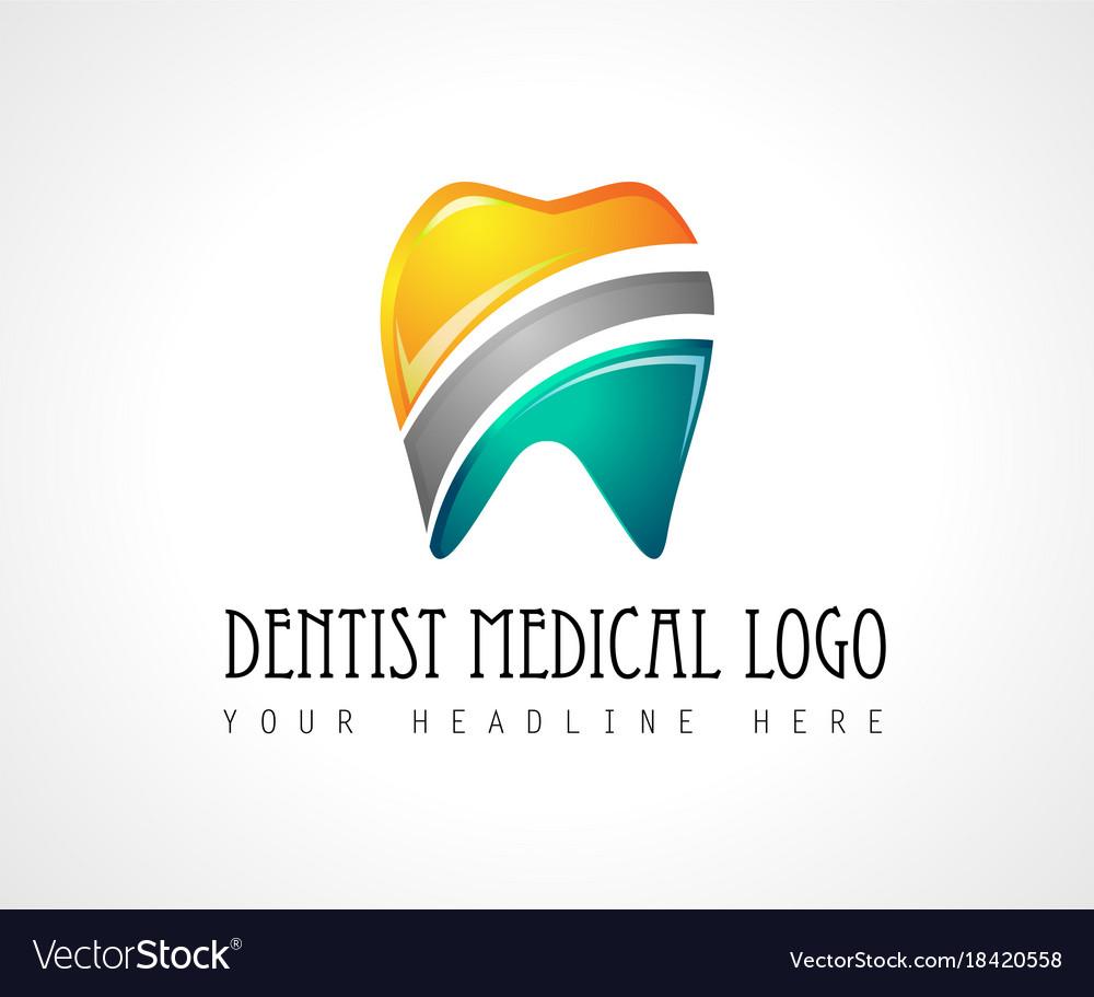 Dentist medical clinic logo design for brand vector image dentist medical clinic logo design for brand vector image biocorpaavc