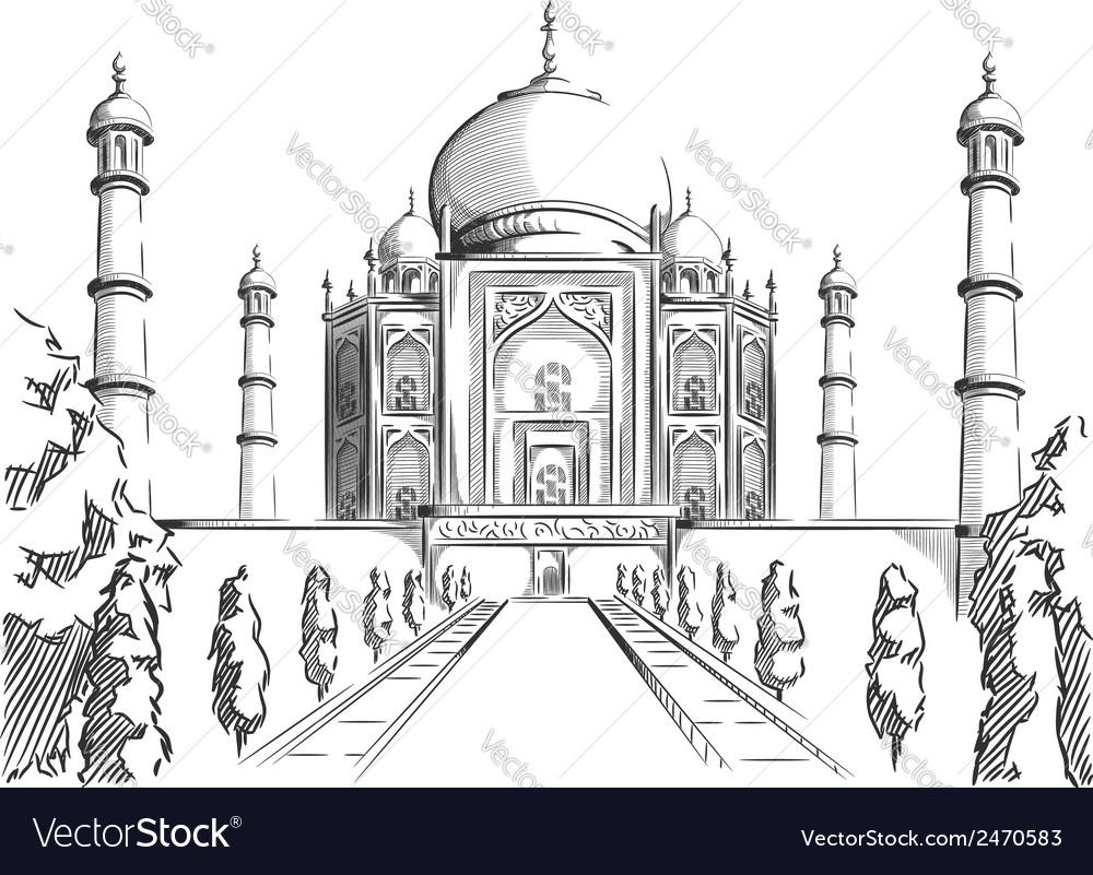 79+ ideas Sketch Of Taj Mahal on christmashappynewyears.download
