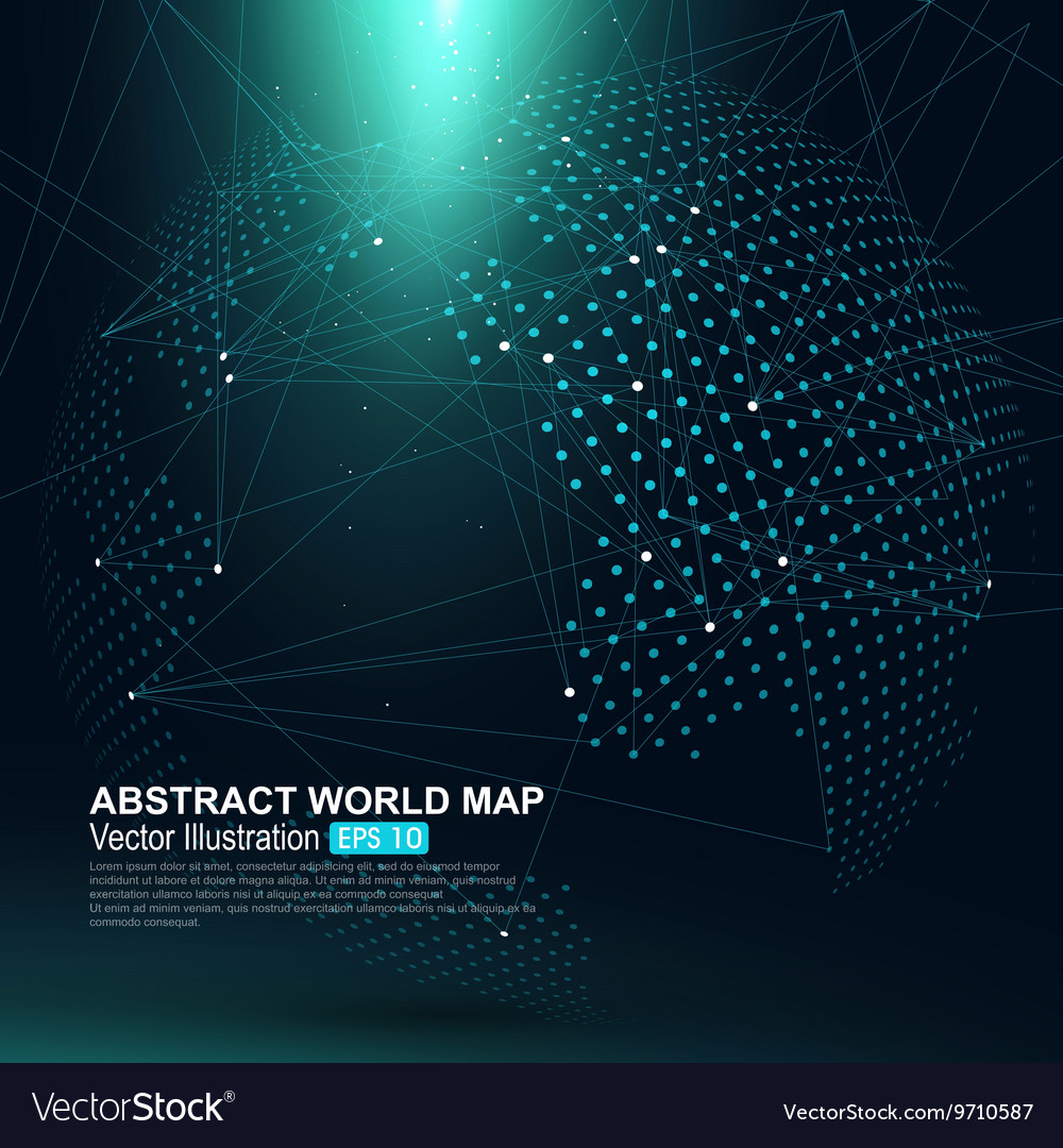 World dot map 100 images free vector dotted world map free world dot map three dimensional abstract planet dot world map vector image gumiabroncs Image collections