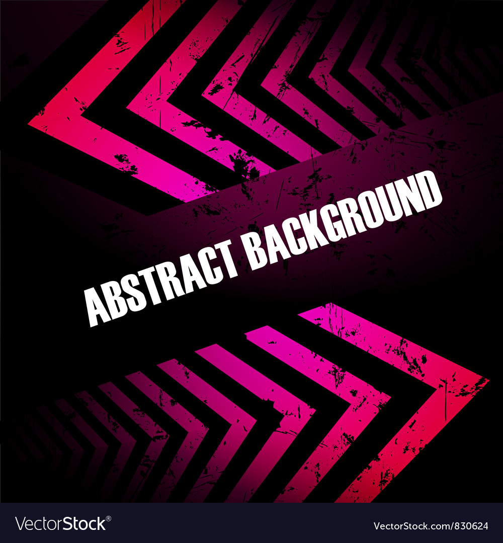 Abstract colored background with arrows vector image
