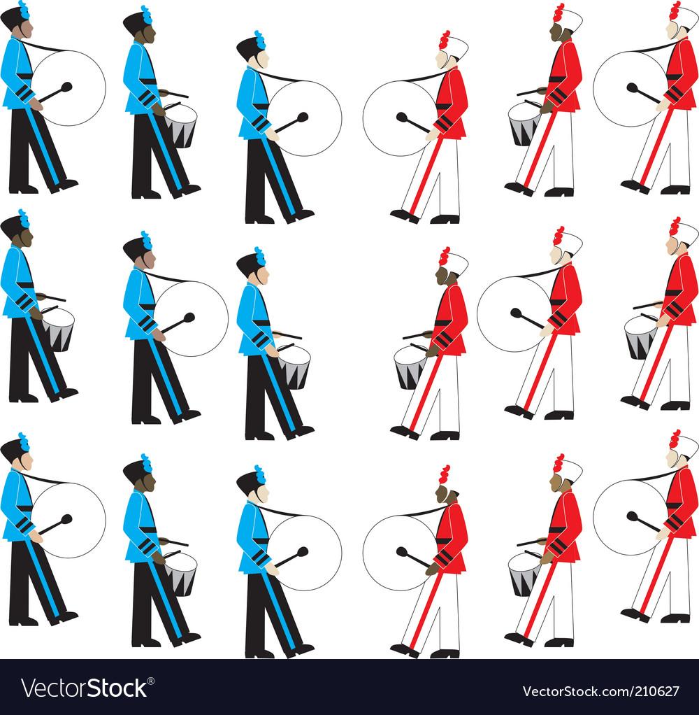 Battle of bands vector image