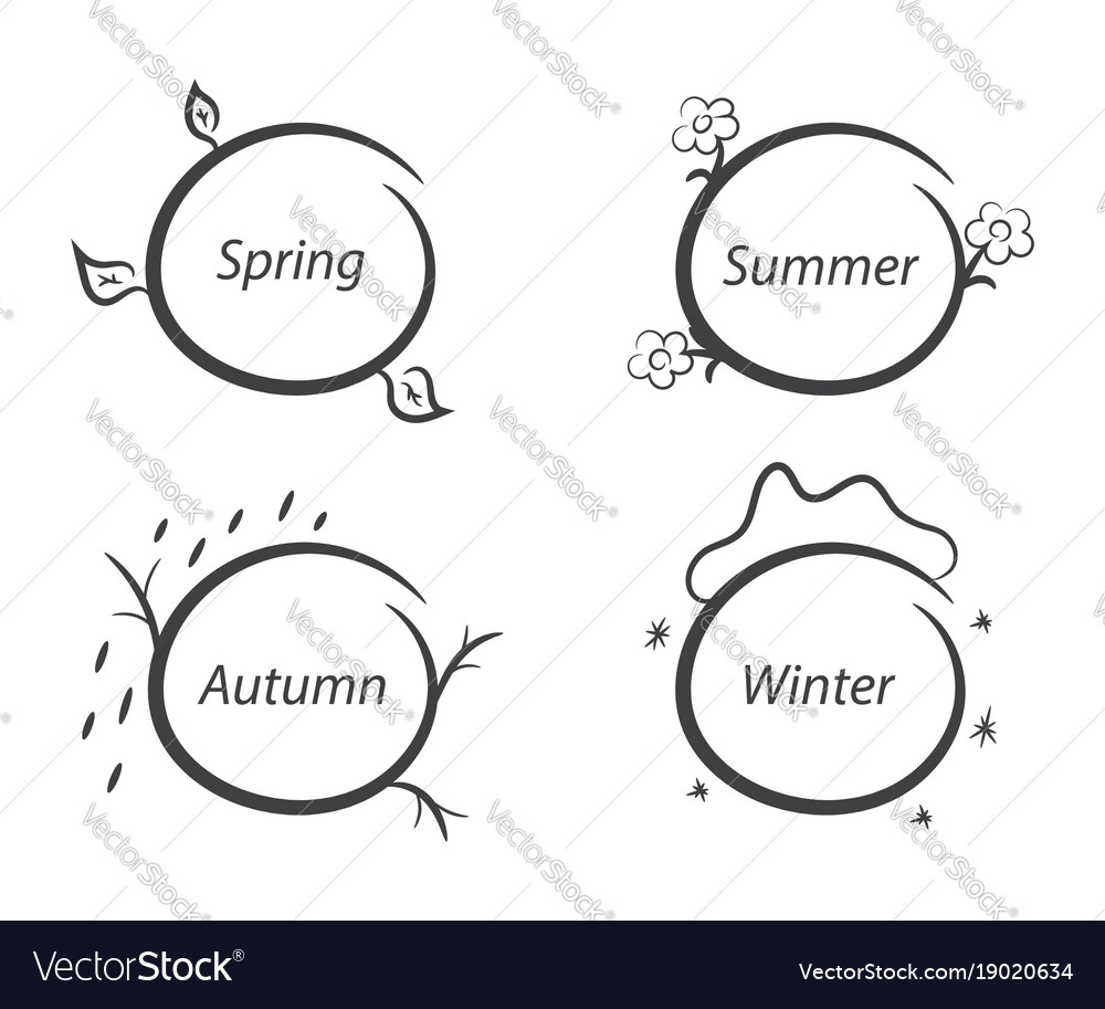 Message frames nature seasons spring summer vector image message frames nature seasons spring summer vector image pooptronica