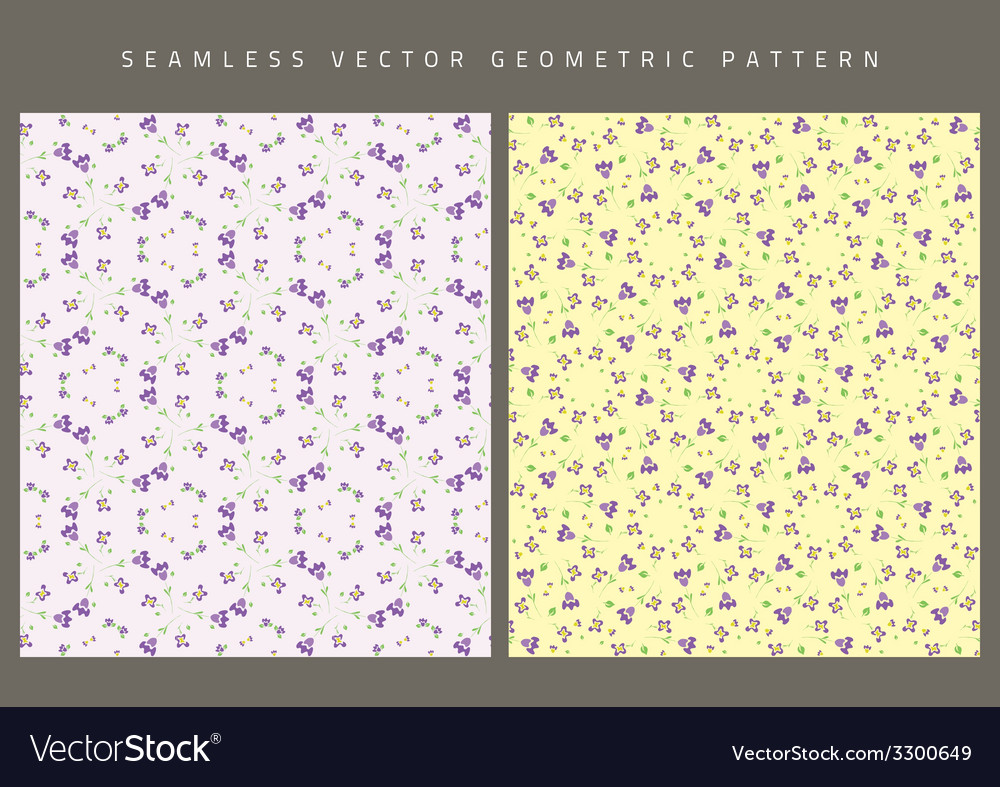 Seamless background with color ornaments vector image