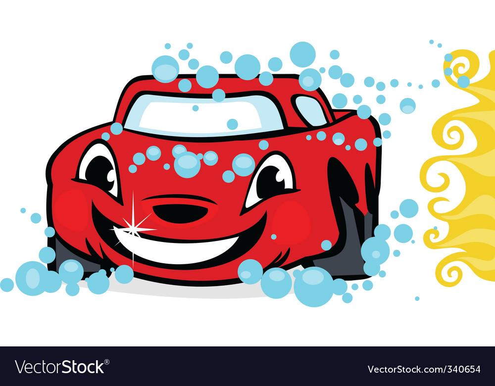 car wash royalty free vector image - vectorstock