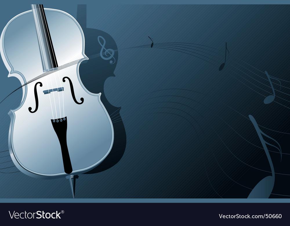 Cello vector image