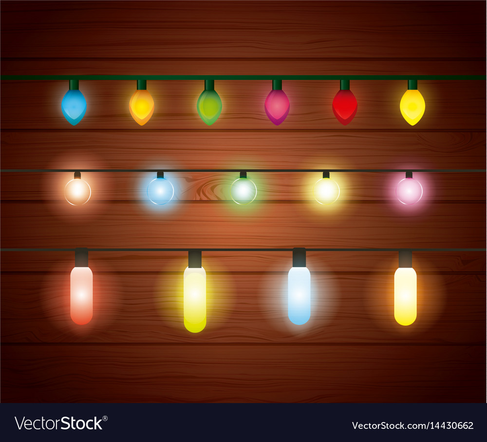 Installation of christmas lights decoration vector image arubaitofo Choice Image