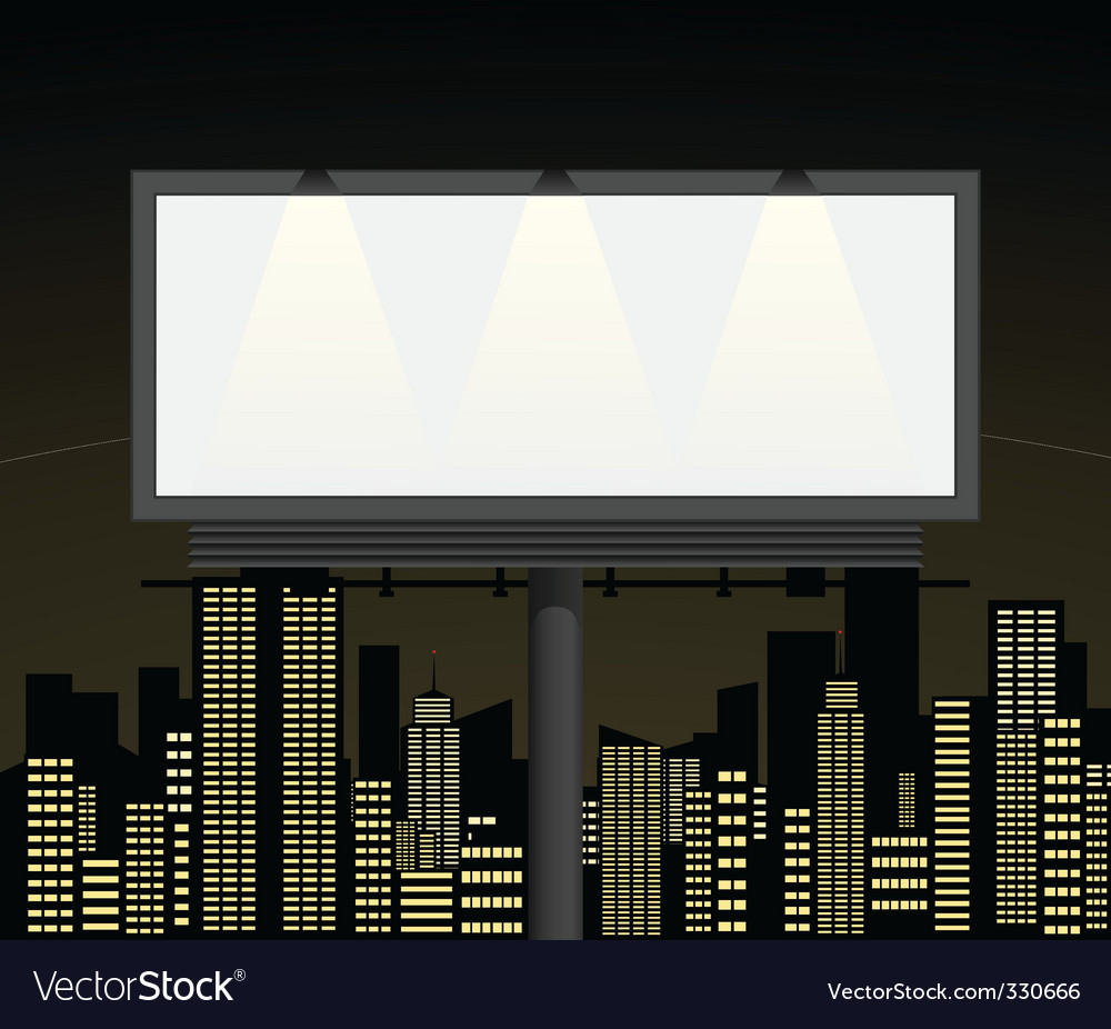 Advertising2 vector image
