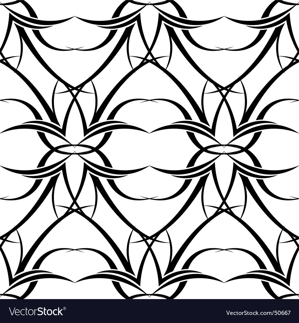 Black n white tattoo wallpaper vector image