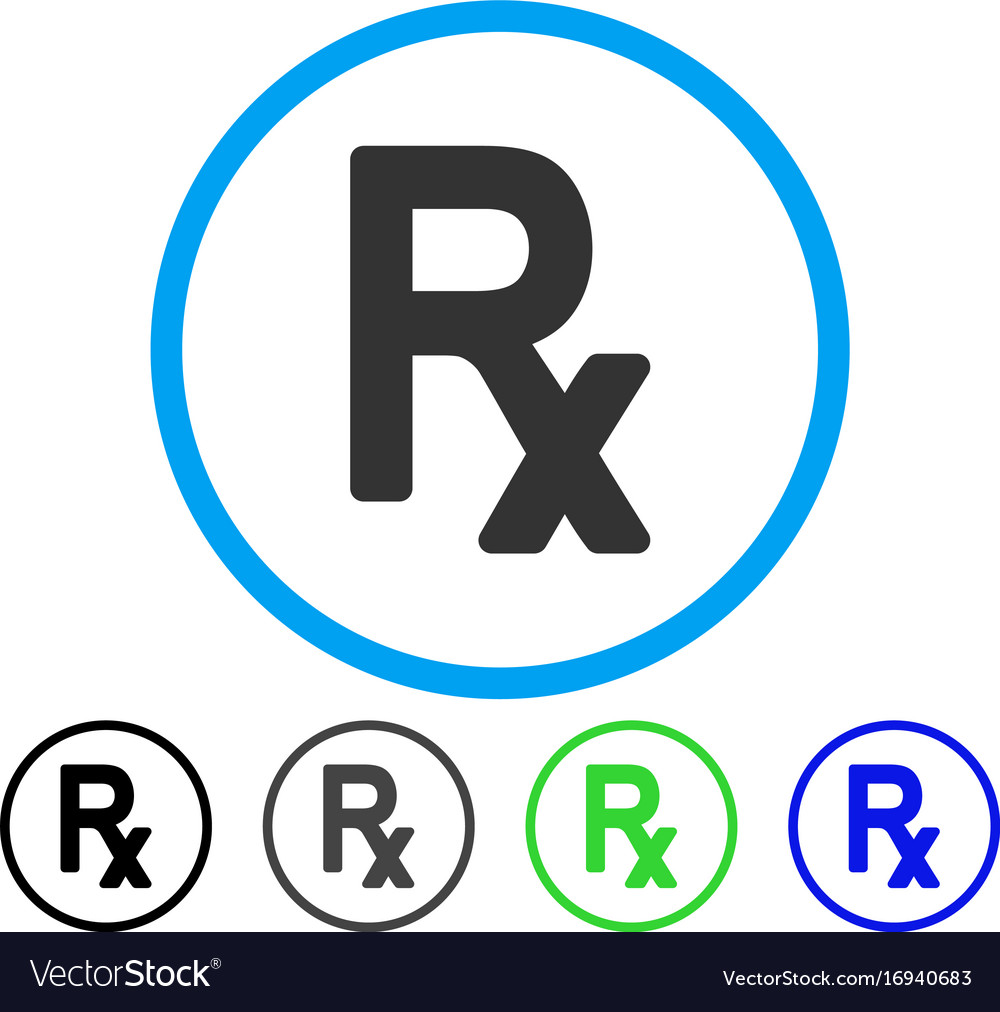 Prescription symbol rounded icon royalty free vector image prescription symbol rounded icon vector image buycottarizona