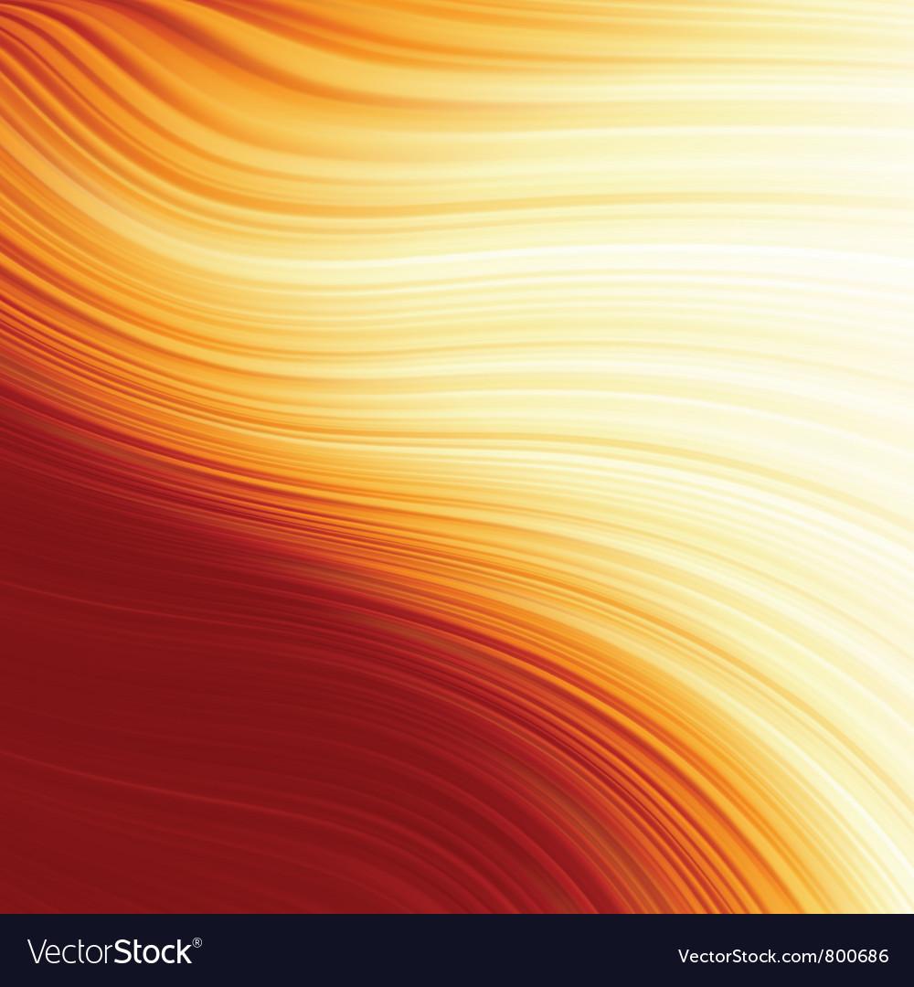 Abstract glow twist vector image