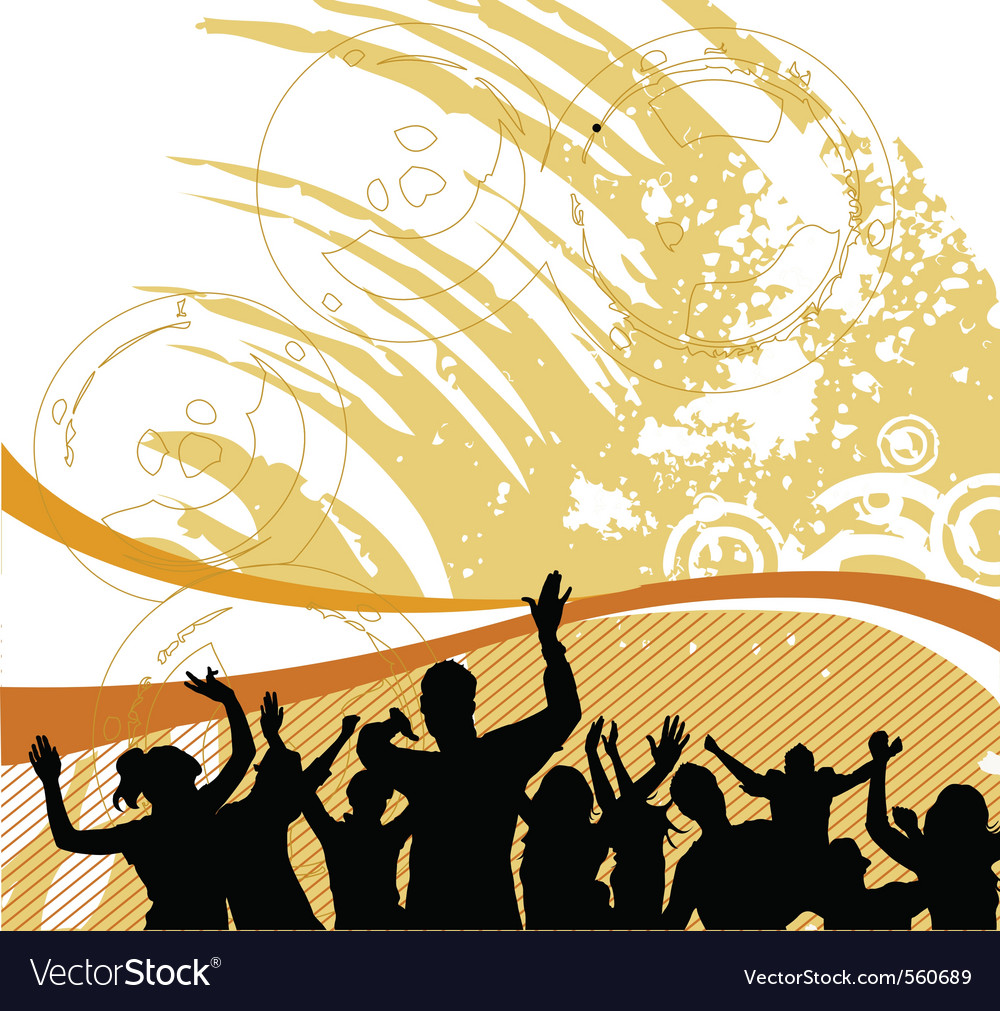 Group people vector image
