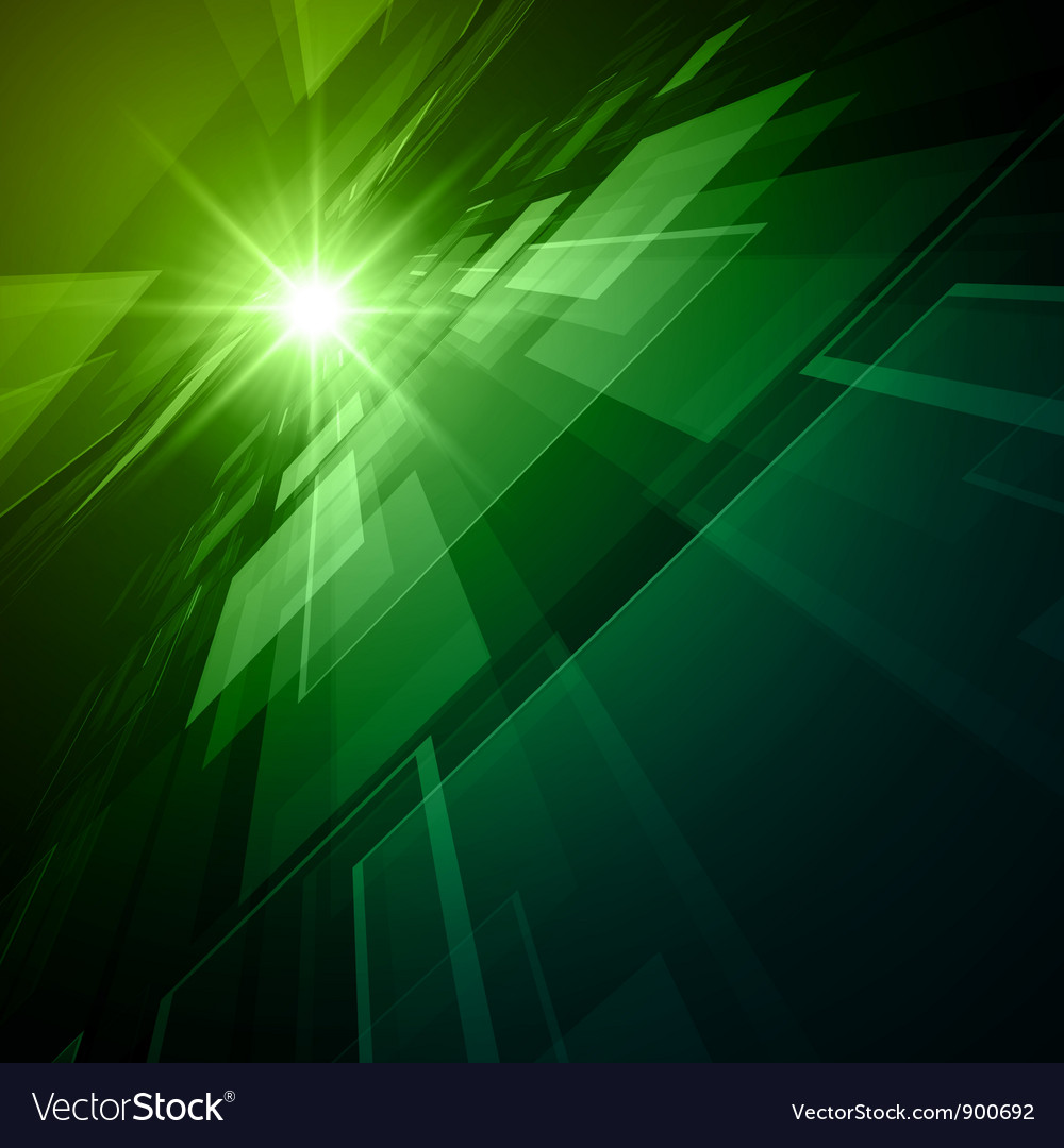 Abstract virtual space background vector image