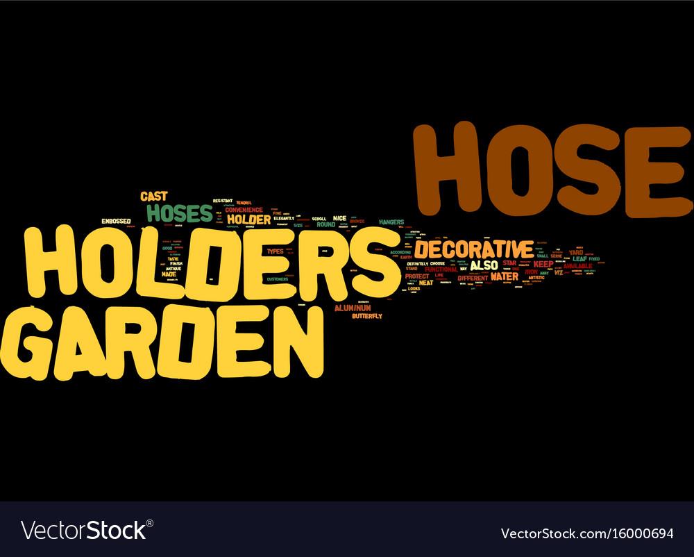 Contemporary Decorative Garden Hose Holder Wall Mount Sketch - All ...
