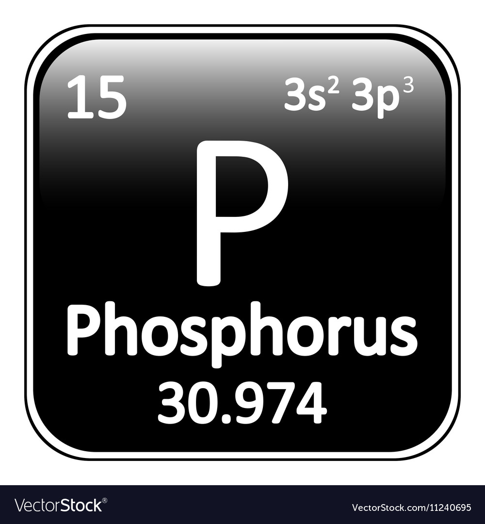 Periodic table element phosphorus icon royalty free vector periodic table element phosphorus icon vector image gamestrikefo Image collections