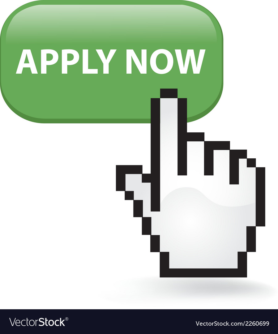 Apply Now Button vector image