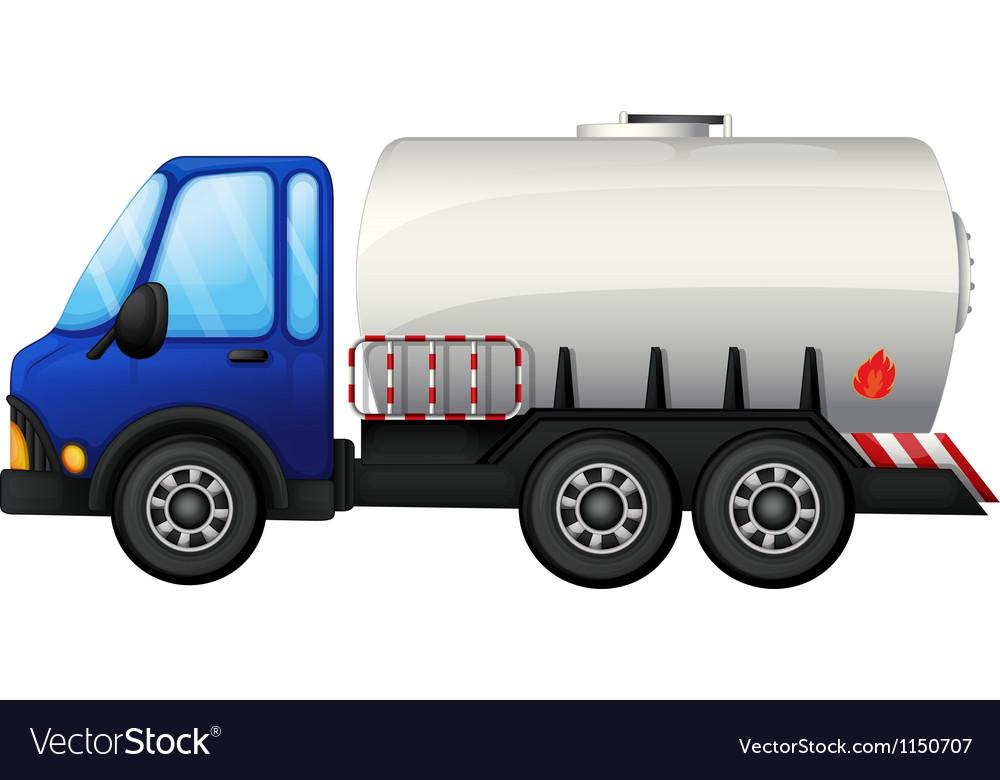 A fuel car vector image
