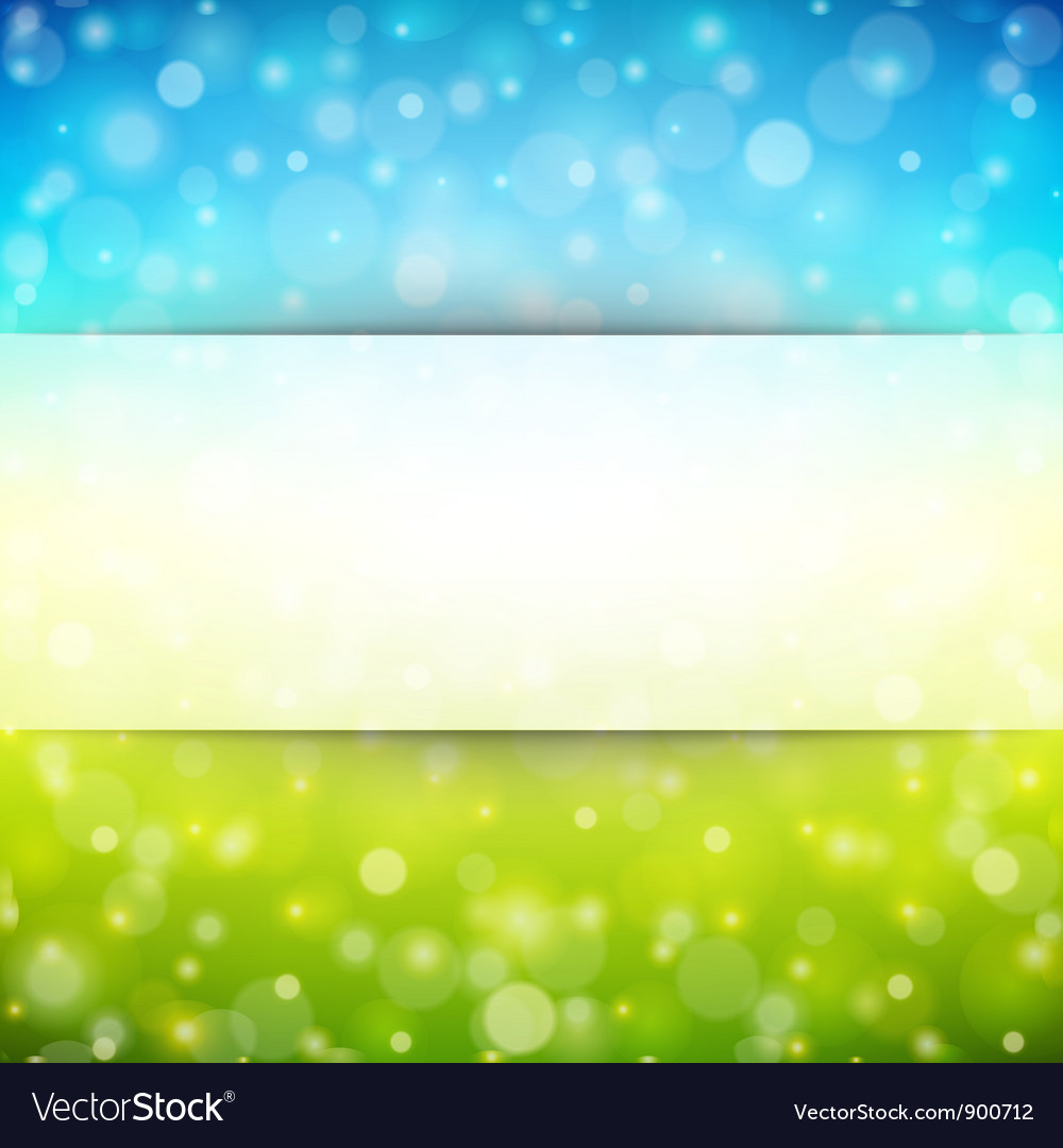 Abstraction light background vector image