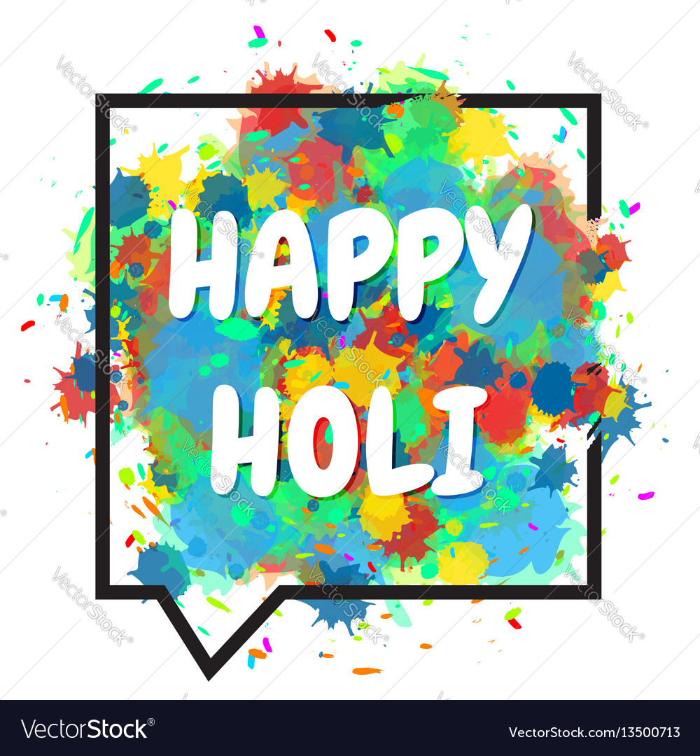 Happy Holi Party Invitation Template halloween greeting cards cheap ...