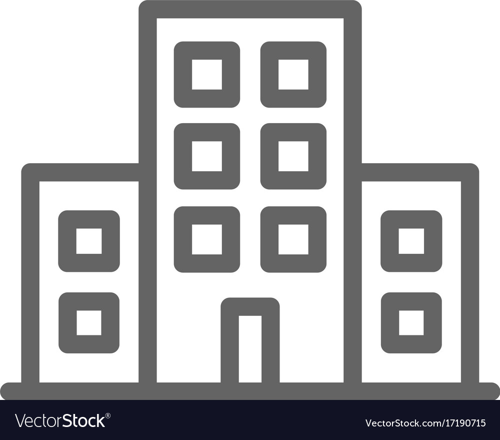 Simple building icon symbol and sign royalty free vector simple building icon symbol and sign vector image biocorpaavc