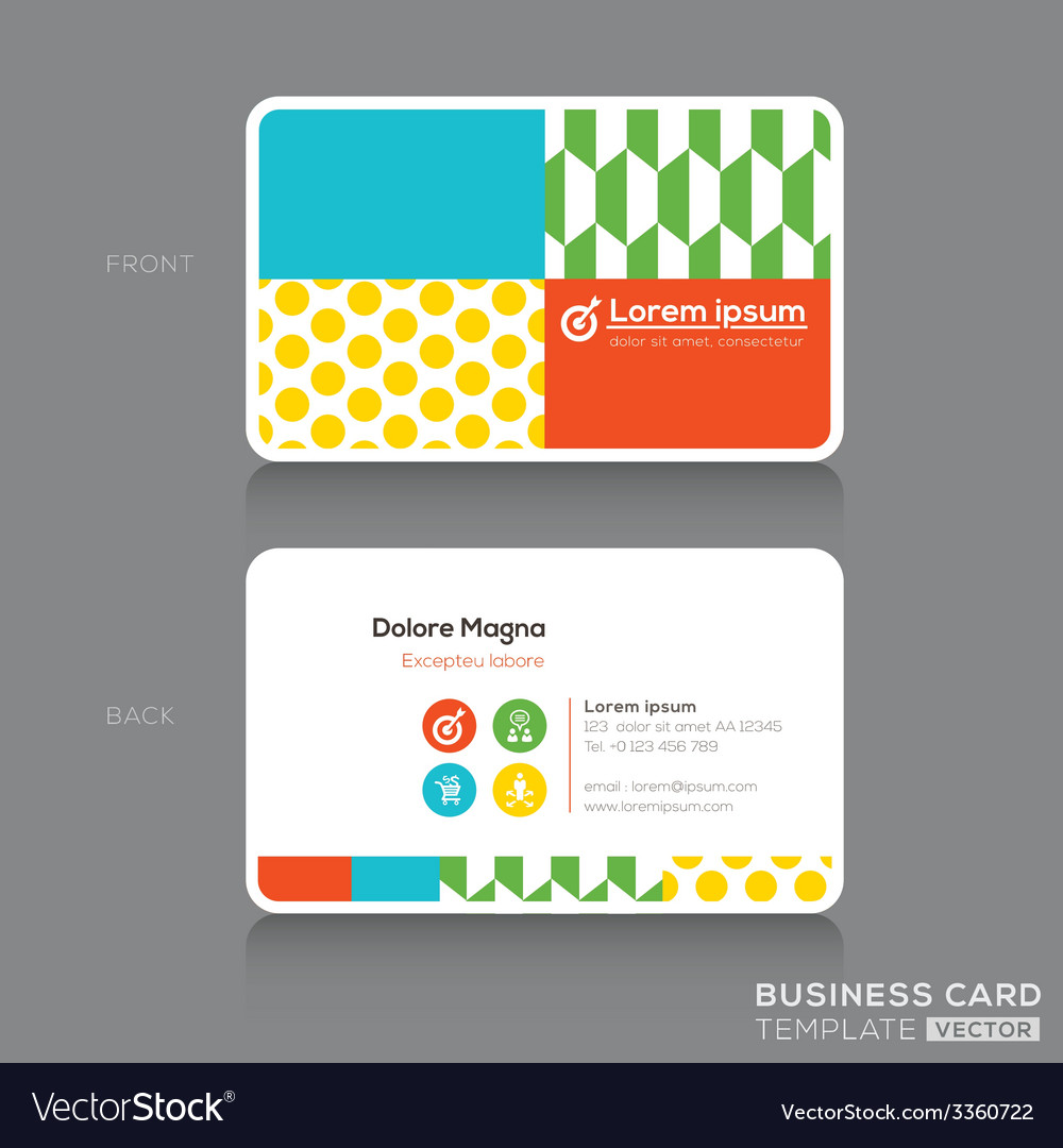 Beautiful Trendy Business Cards Gallery - Business Card Ideas ...
