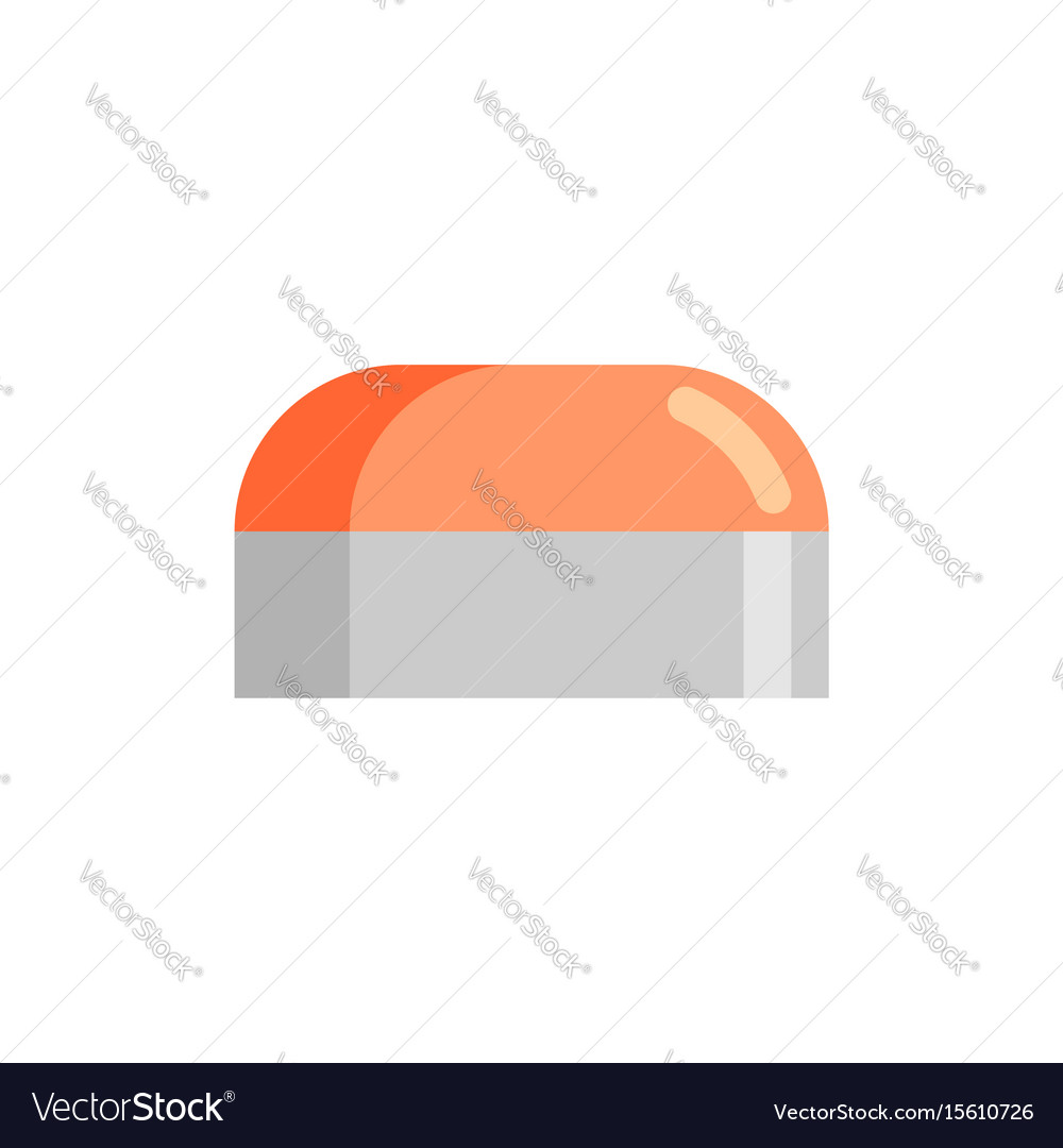 Cream pack isolated bank cosmetics on white vector image