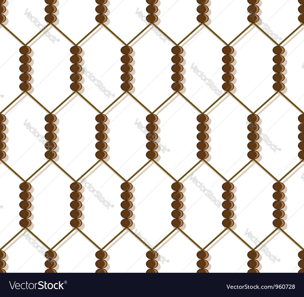 Grid pattern vector image
