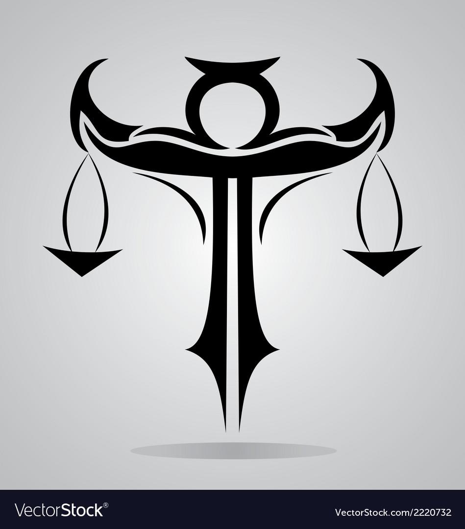 Tribal libra signs royalty free vector image vectorstock tribal libra signs vector image biocorpaavc Choice Image