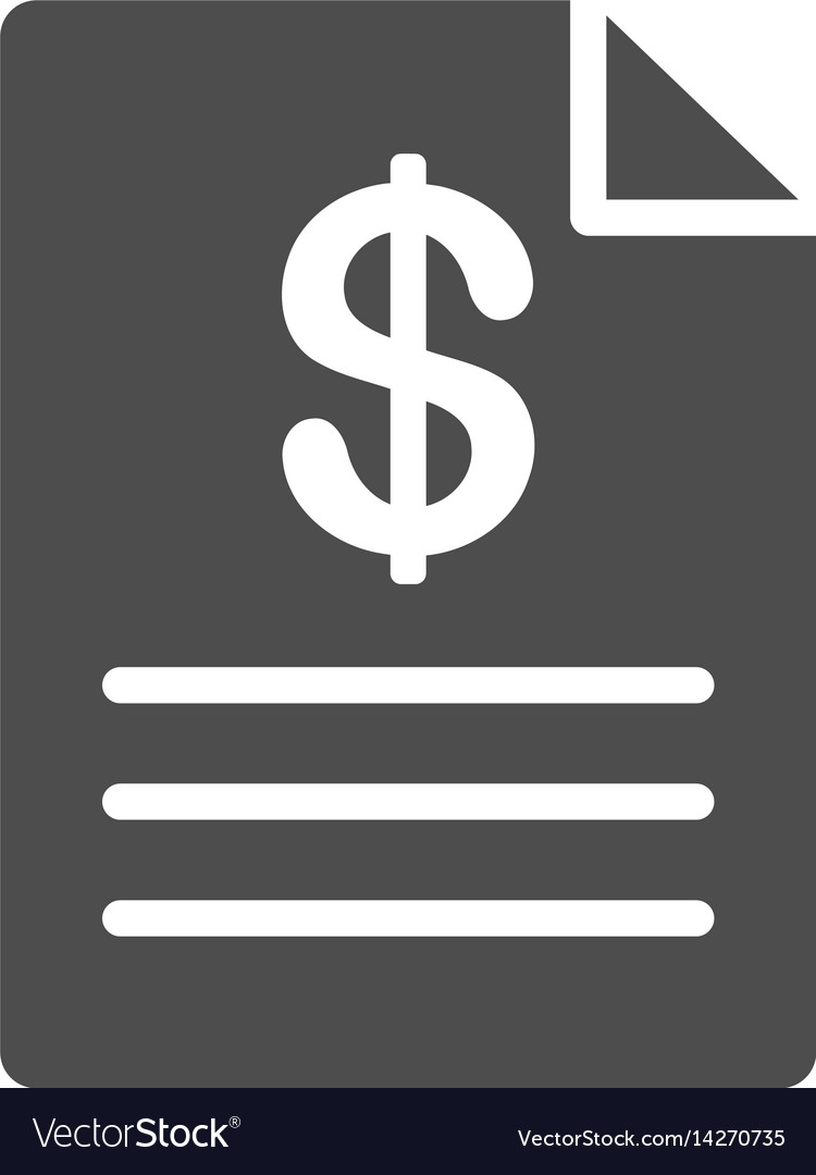 Price list icon vector image