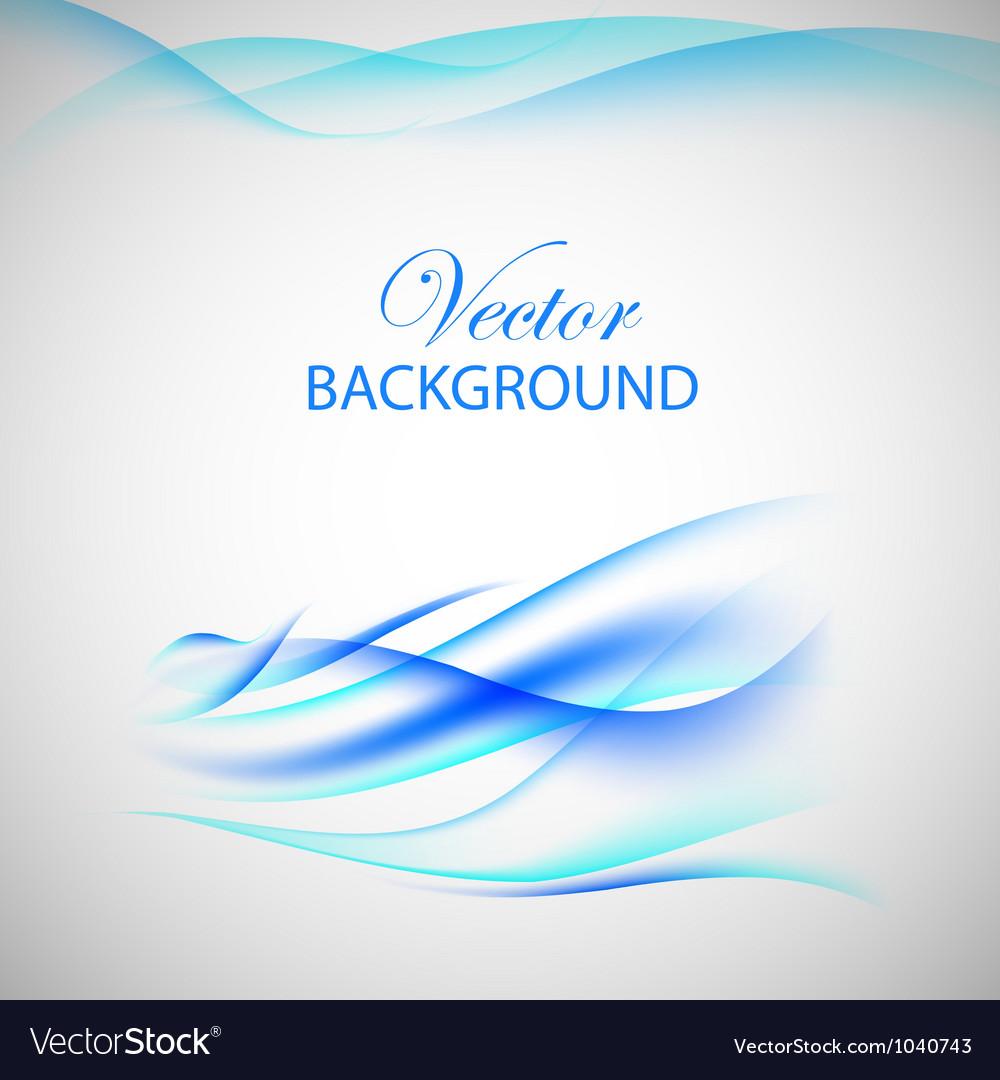 Blue wave vector image