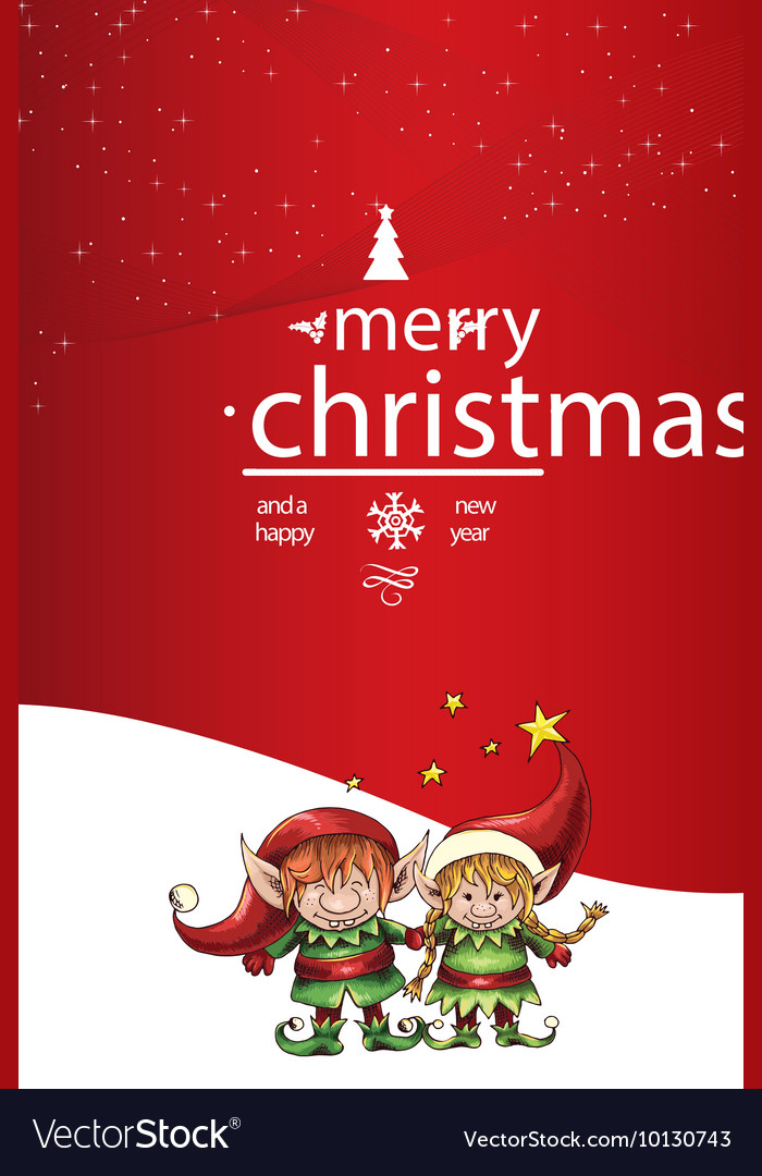 merry christmas seamless tree background eps 10