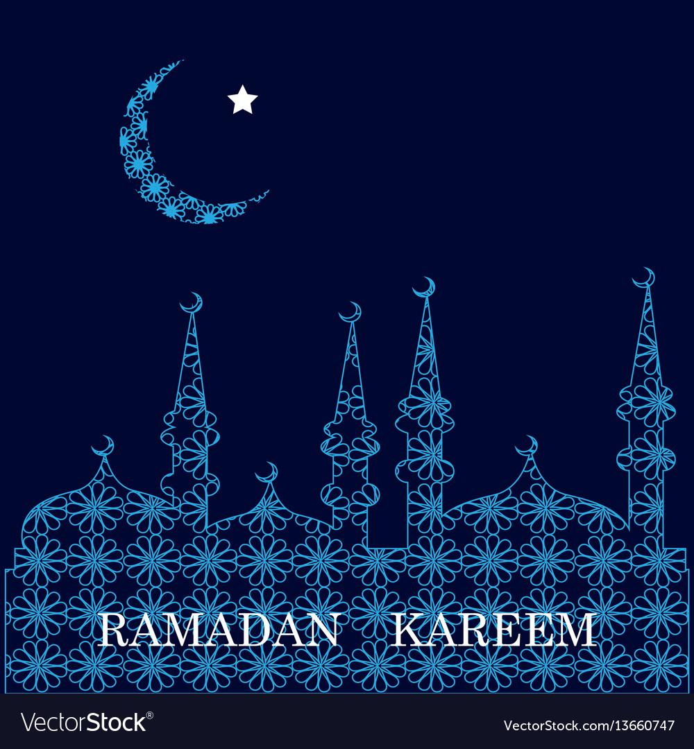 Ramadan greetings background royalty free vector image ramadan greetings background vector image kristyandbryce Images