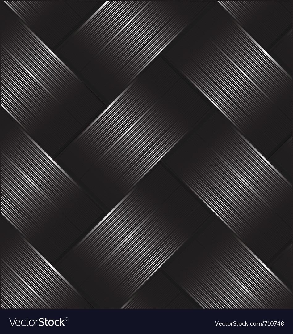 Carbon fiber black Vector Image