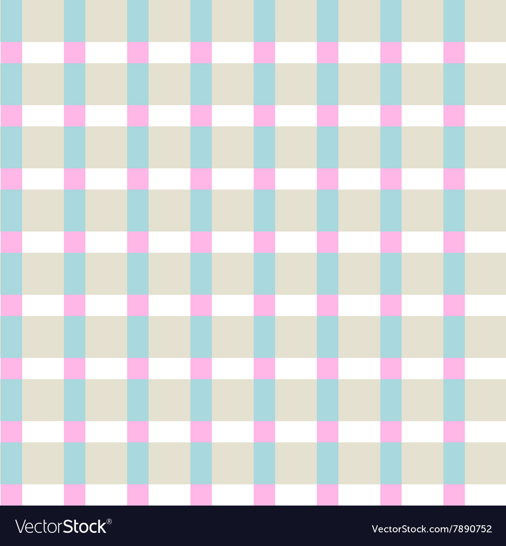 Checkered color pattern vector image
