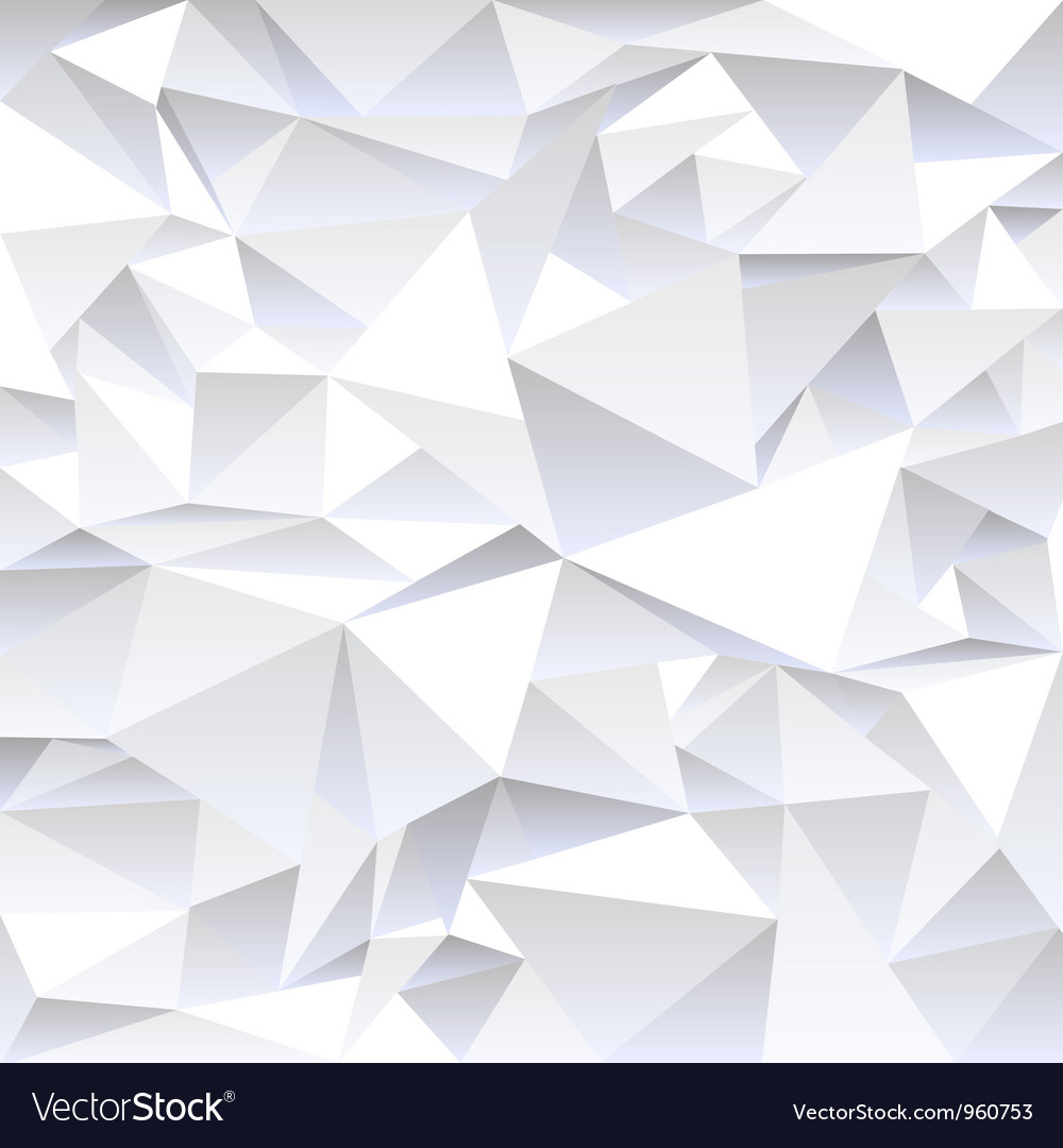 Grey crumpled abstract background vector image