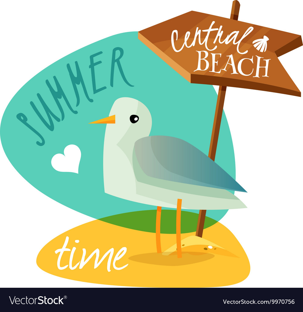 The best summer vector image