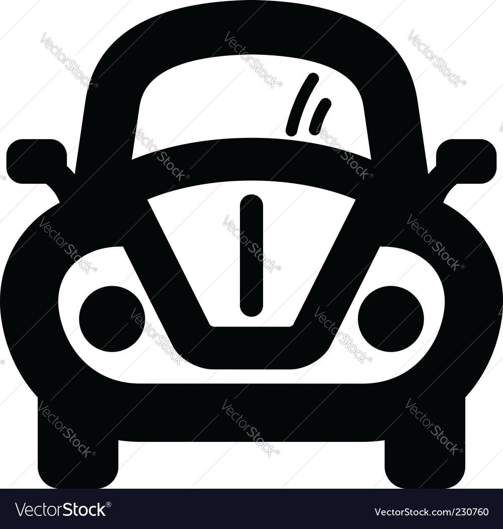 car icon royalty free vector image vectorstock rh vectorstock com car icon vector top view car icon vector eps