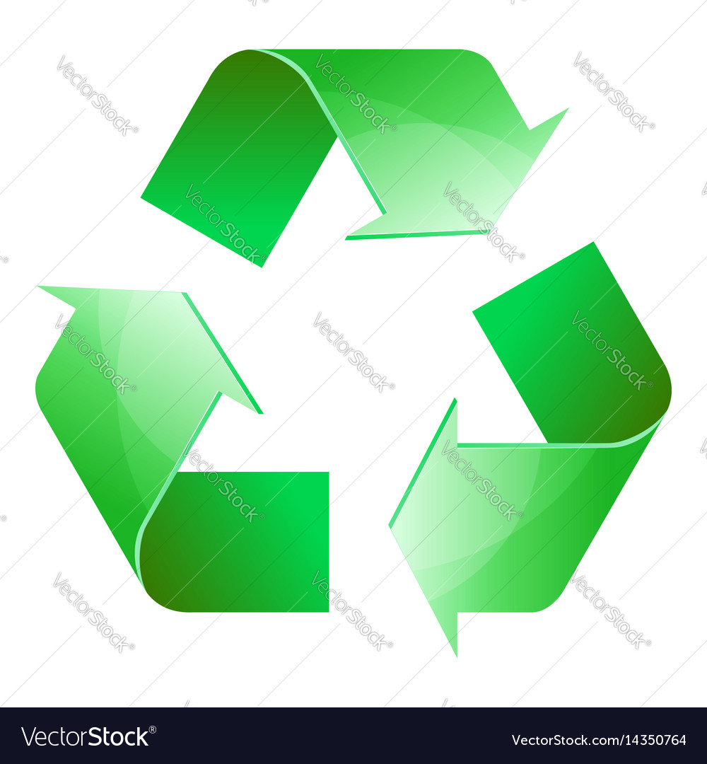 Recycle symbol of conservation green icon vector image recycle symbol of conservation green icon vector image biocorpaavc Gallery