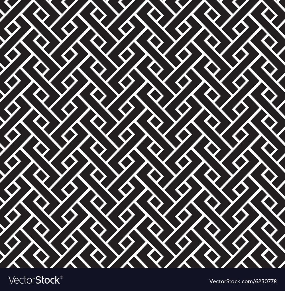 Interlacing pattern vector image