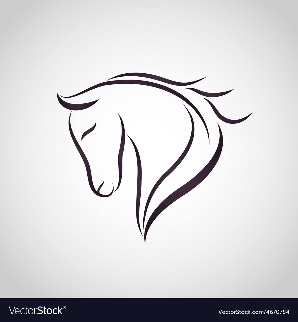 Horse symbol royalty free vector image vectorstock horse symbol vector image buycottarizona