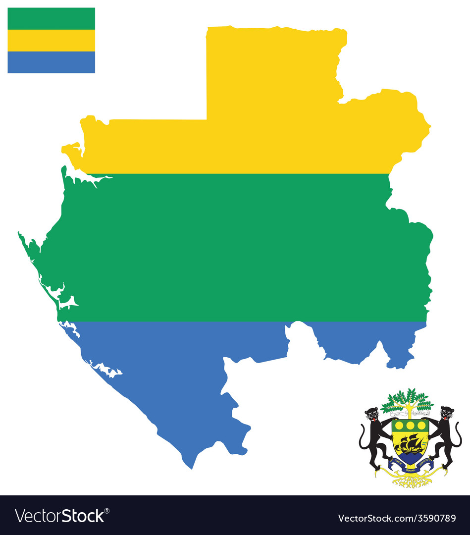 Gabonese republic flag royalty free vector image gabonese republic flag vector image sciox Gallery