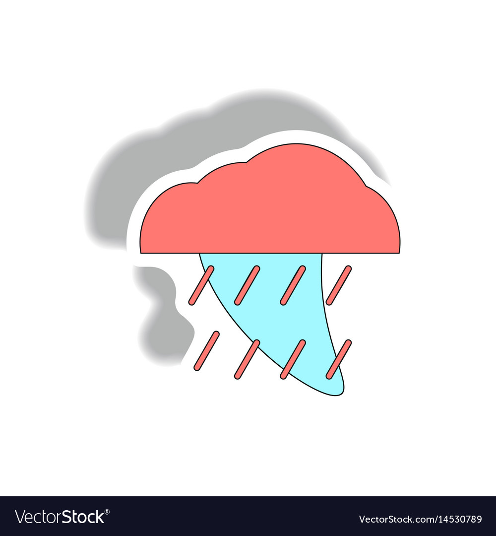 Rain cloud cloudburst downpour rain hurracian