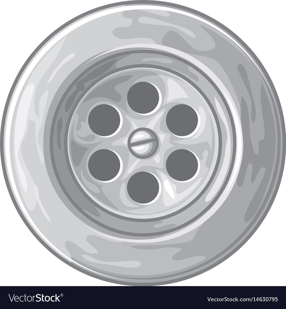 Sink or bath vector image
