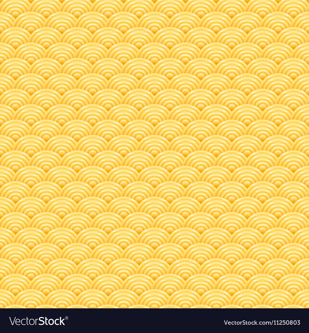 Chinese golden background seamless pattern vector image