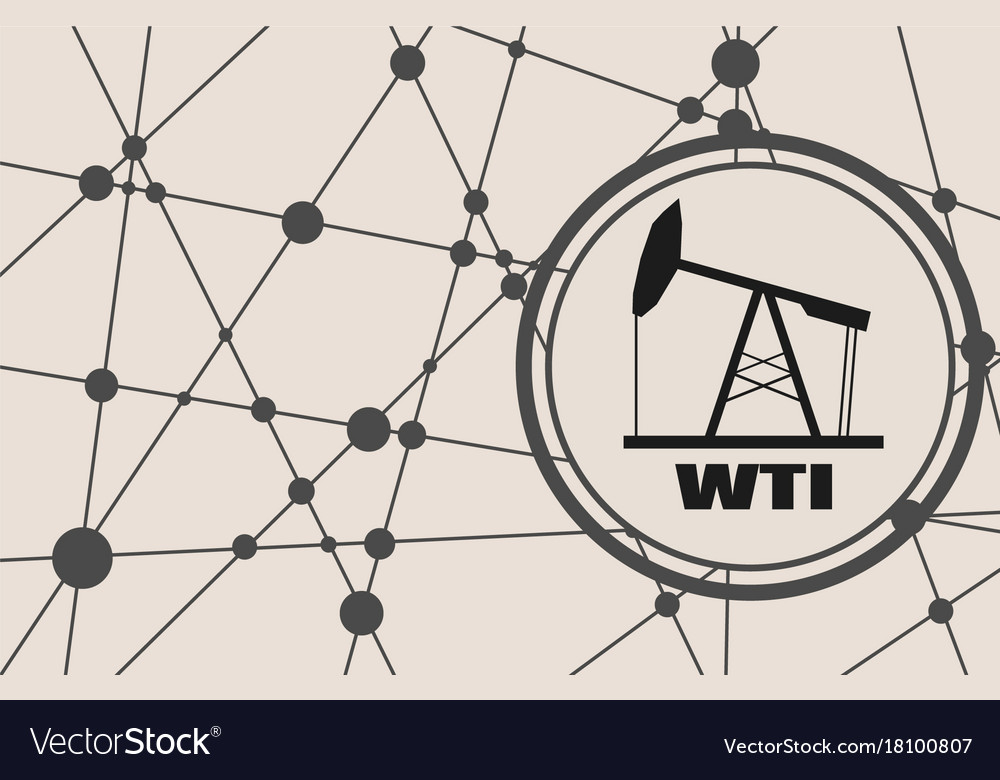 Wti Crude Oil Presentation Banner Royalty Free Vector Image