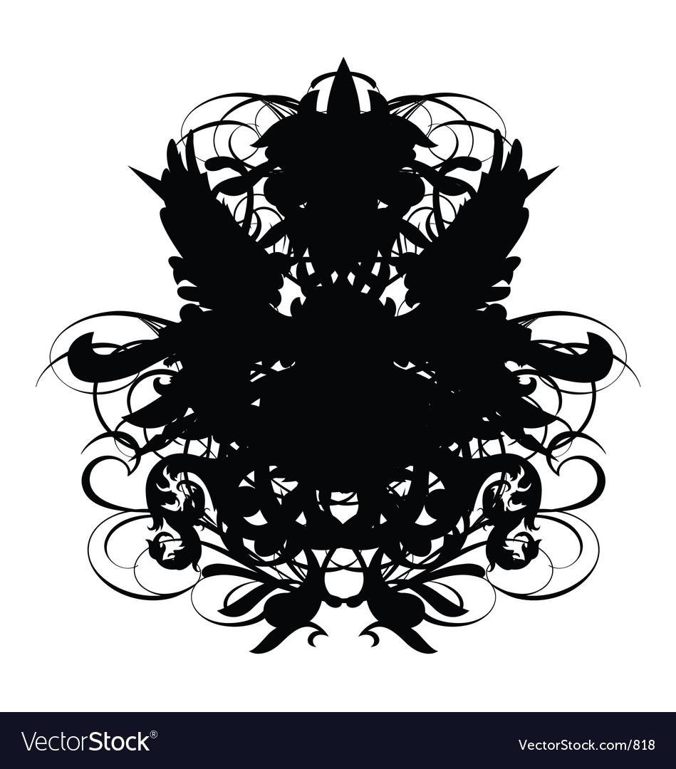 Heraldry sheld regal vector image