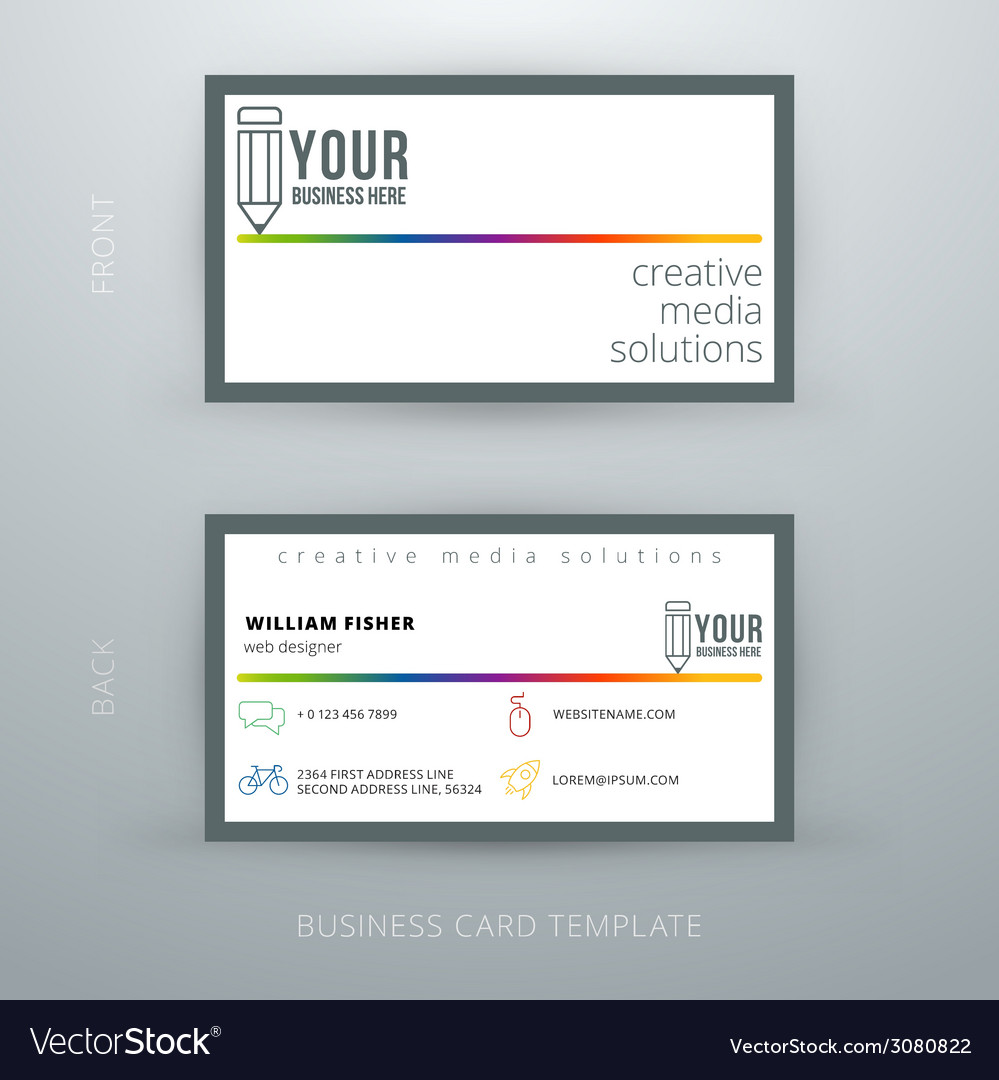 Modern Simple Business Cards Images - Business Card Template