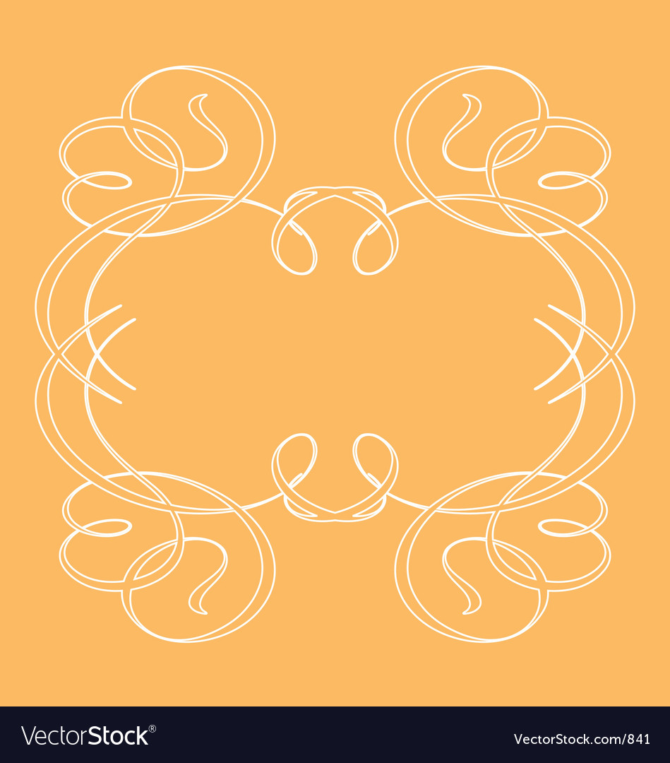 Ornamental frames vector image