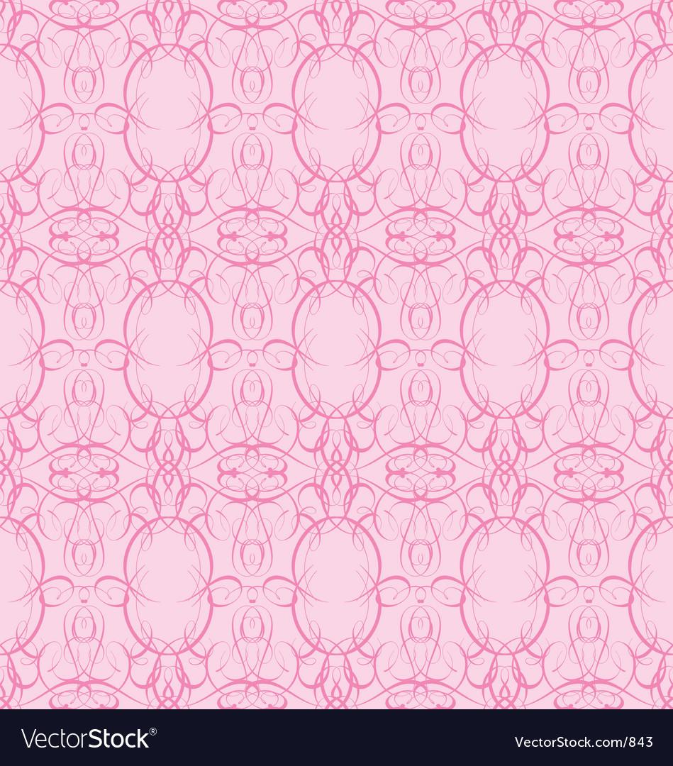 Vinatge wallpaper vector image