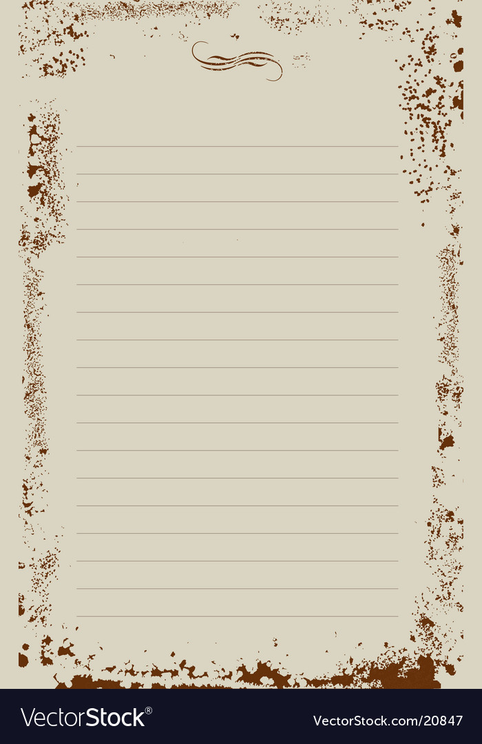Notepad Background Vector. Artist: artselectory; File type: Vector EPS