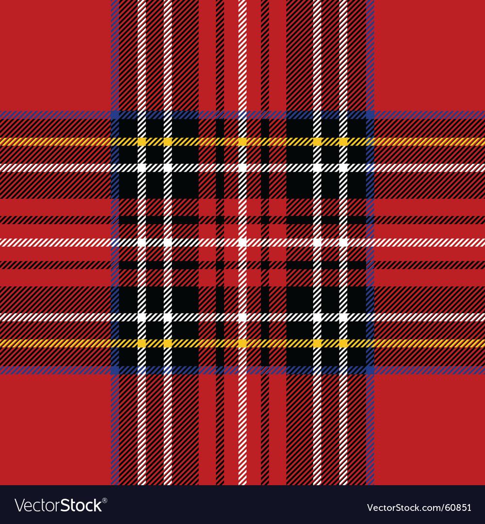 Classic tartan vector image